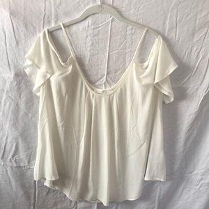 Lush white blouse
